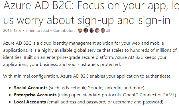 Identity as a Service: Auth0 vs Okta vs Azure AD B2C – First